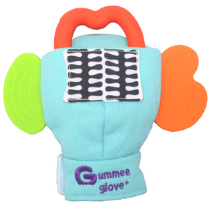 gummee glove teething mitten for toddlers teether chew mitt