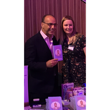 Load image into Gallery viewer, Theo paphitis who did the foreword for the hand to mouth book by jodine boothby