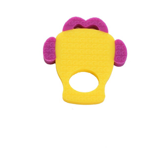 silicone gummee glove shaped teether 100% food grade silicone