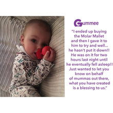 Load image into Gallery viewer, molar teether back teeth teething toy hygienically designed with wobble base