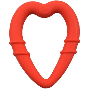 detachable silicone heart teething ring for young teethers pain relief for teethers