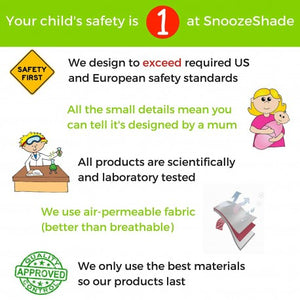 snooze shade car seat uv and sun cover users guide