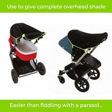 Load image into Gallery viewer, snooze shade push chair cover to protect from the sun
