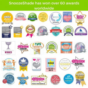 snooze shade push chair cover to protect from the sun awards