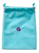 Load image into Gallery viewer, Gummee Starter Pack - Blue Mitts, Gummee Glove Turquoise and Purple Heart