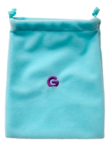 Gummee Starter Pack - Blue Mitts, Gummee Glove Turquoise and Purple Heart