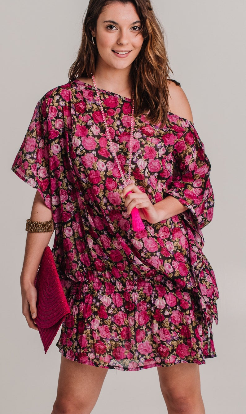 Sweetheart Dress - Cotton Resort Wear
