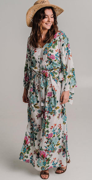 Belize Dress - Resort Kaftan Dress