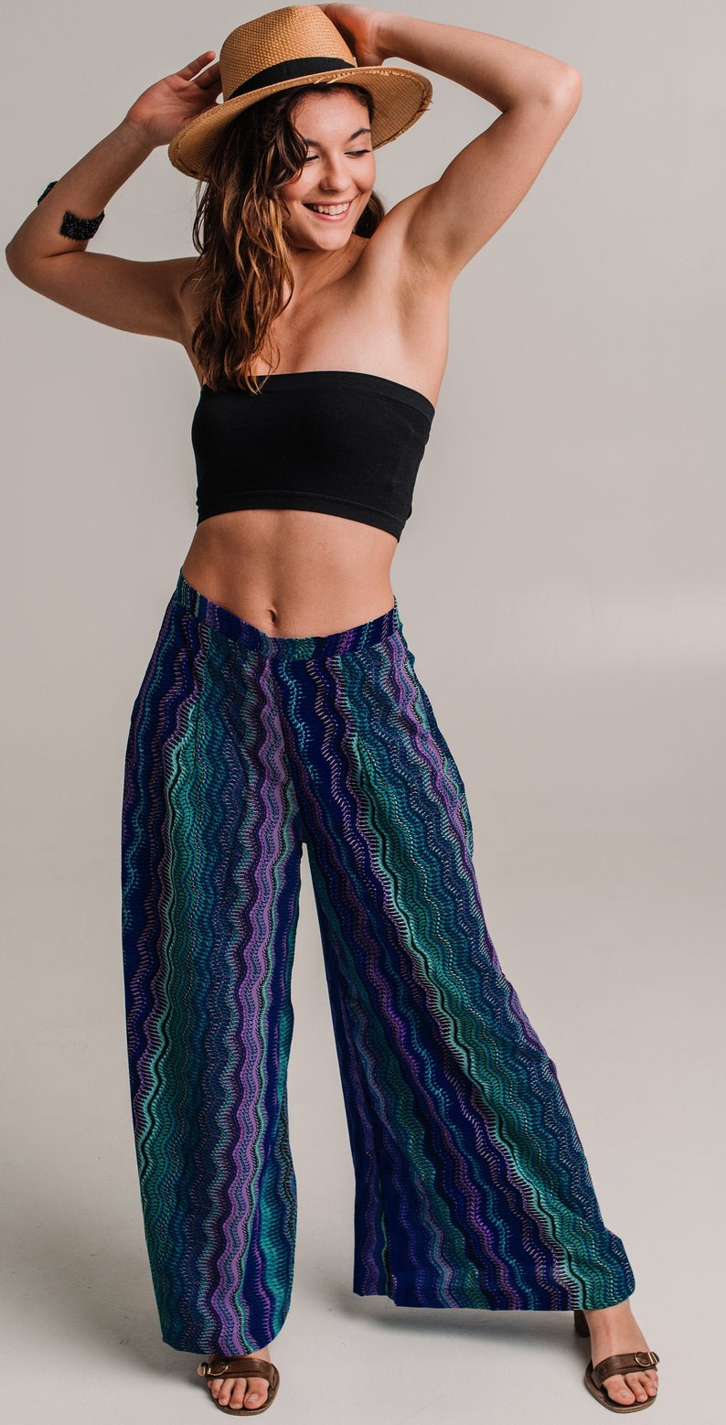 Everday Zig Zag Boho Resort Pants