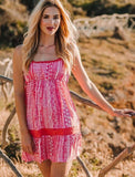 Pink Short Summer Dress, SICILIA DRESS