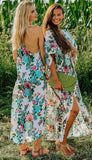 White Floral Maxi Dress, SAINT TROPEZ