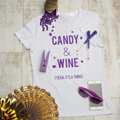 Sweet Tee - 'Candy & Wine'