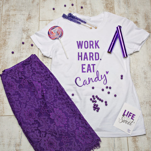 Sweet Tee - 'Work Hard'