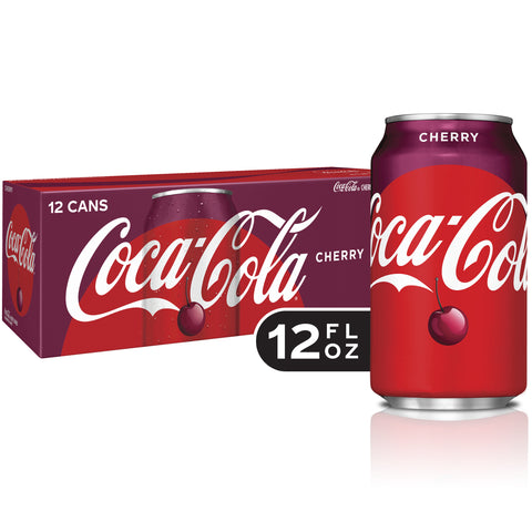 Cherry Coke Case (12 Cans)
