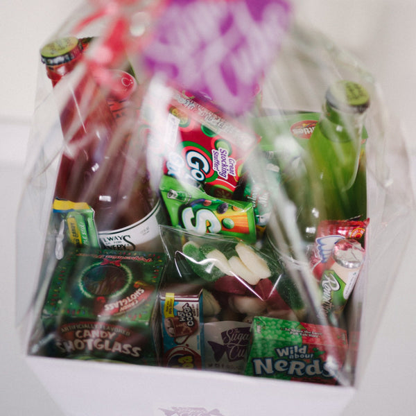 Christmas Candy Basket