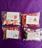 Spread the Love Candy Bag Package with Valentine's Card Add On