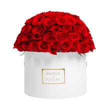 Load image into Gallery viewer, Red Roses Full Dome in Signature MDF Round Box