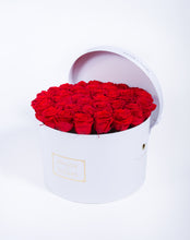Load image into Gallery viewer, Preserved Roses in Signature MDF Round Box