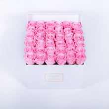 Load image into Gallery viewer, Preserved Roses in Signature MDF Square Box