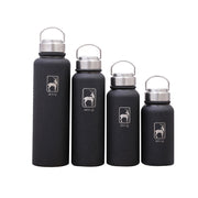 Stainless Steel Vacuum Flask Outdoor Sport Chilly Bottle with Hand Ring