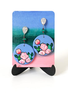 Peonies earrings - Amaria Studio