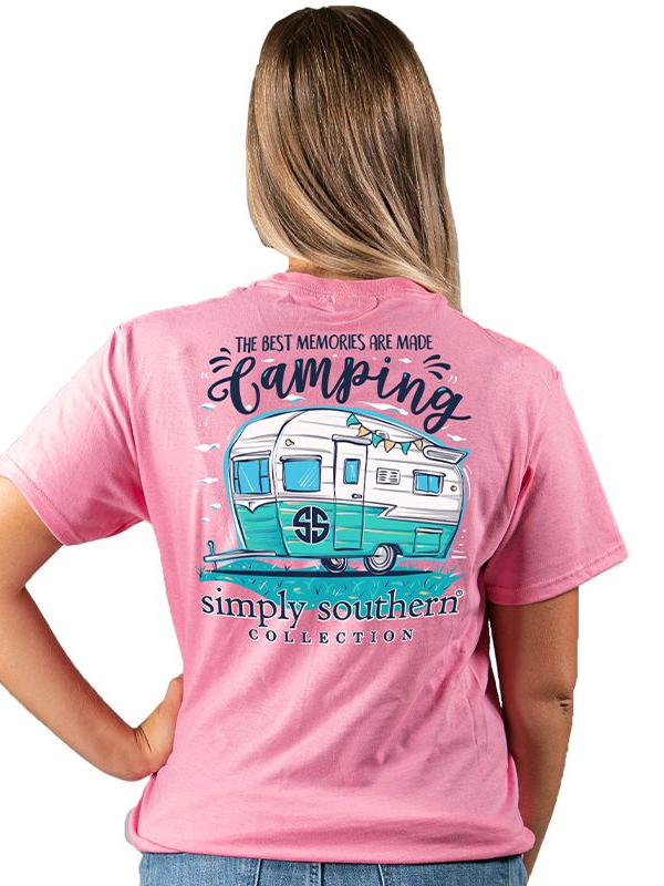 Simply Southern Best Memories are Made Camping Tee