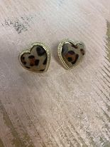 Hattie Heart Post Earrings