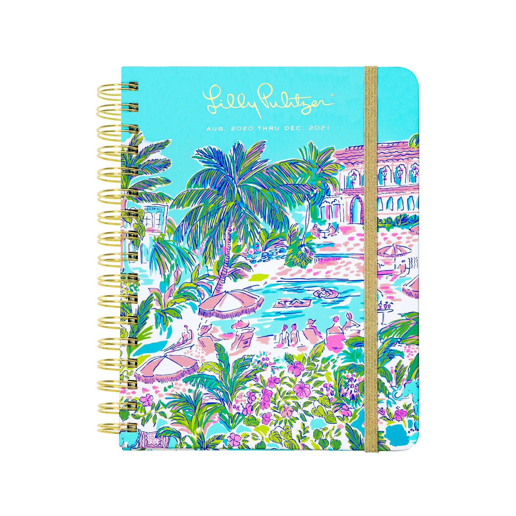 17 Month Agenda Large Island Hopping Toile