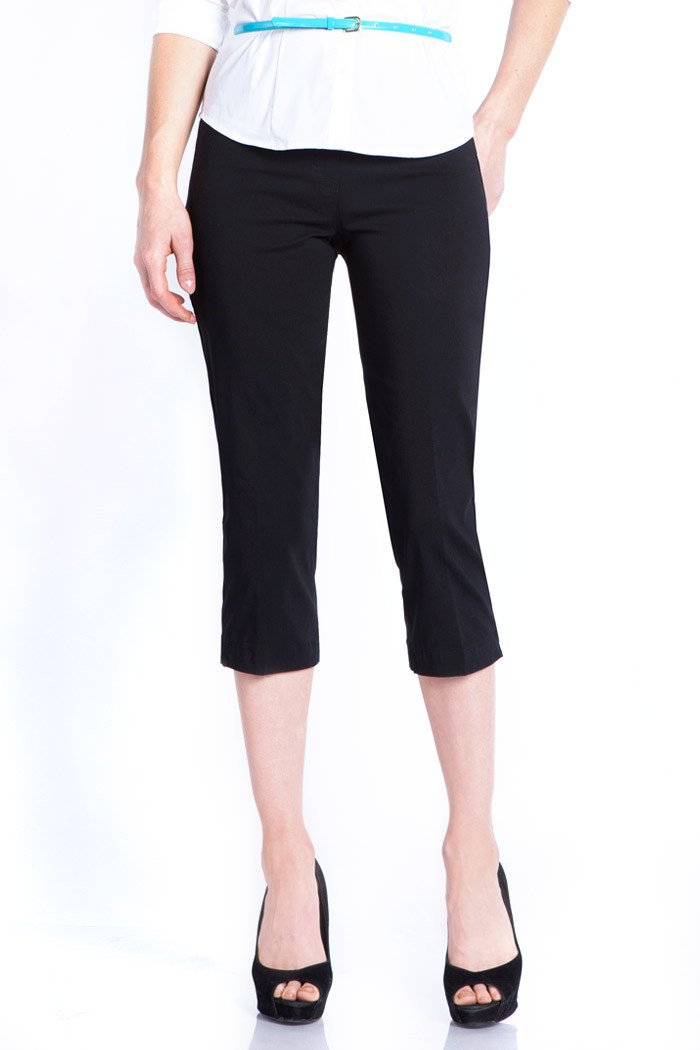 The Capri Pant Black