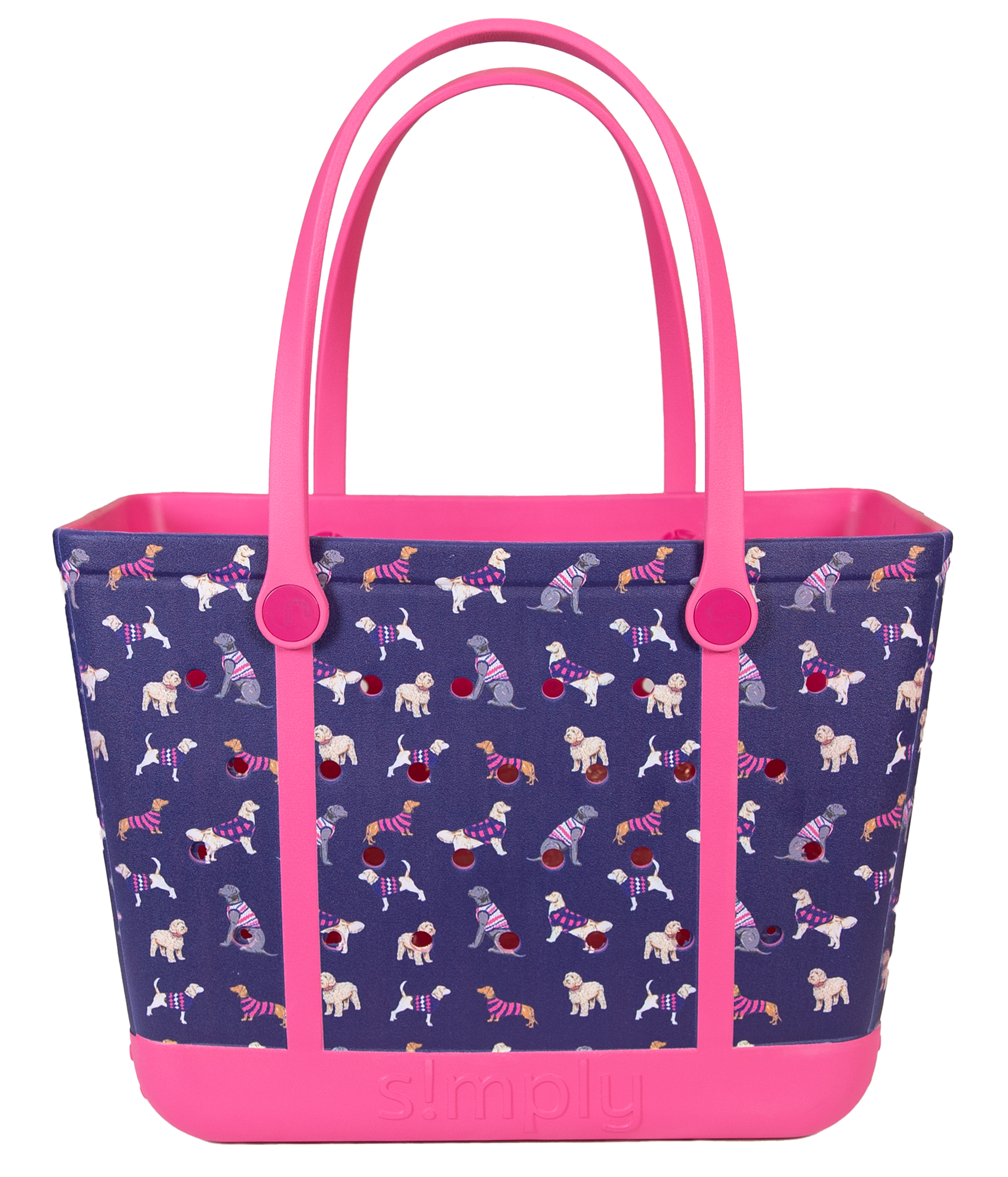 Simply Southern Printed EVA Tote (Additonal shipping fee may apply)