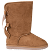 Simply Southern Bow Suede Boots - Tan