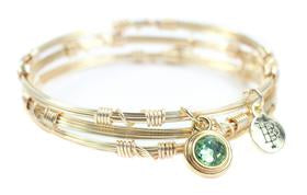 Bourbon & Boweties Birthstone Stackers Gold