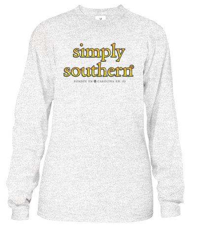 Simply Southern Life Is Tough Long Sleeve Tee