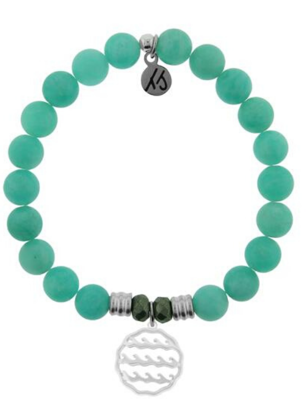 Peruvian Amazonite - Waves of Life