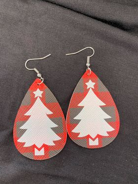 Christmas Drop Earring