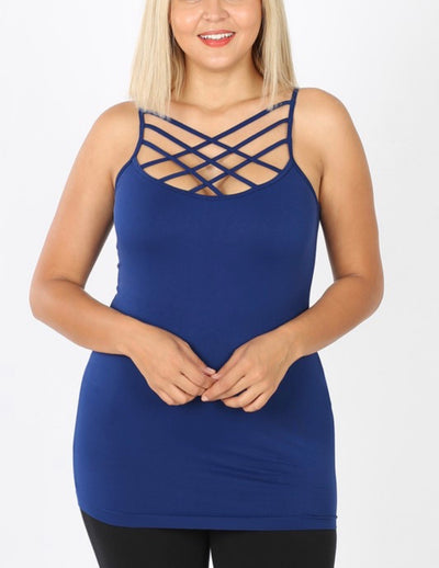 The Perfect Criss Cross Tank