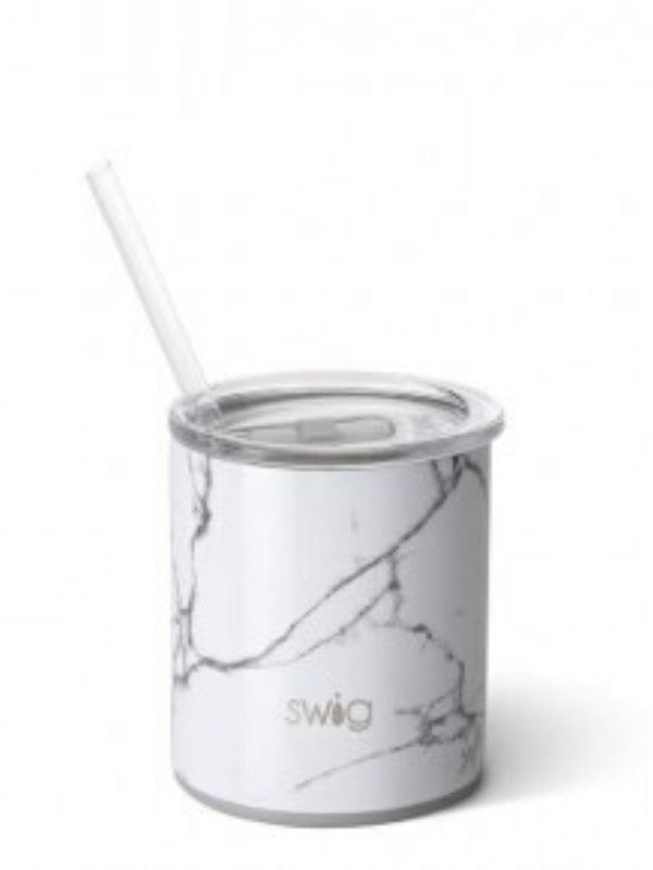 Swig 12OZ Lowball Bar Marble Slab
