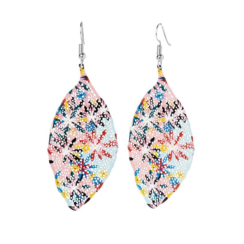 Aubree Feather Dangle Earring