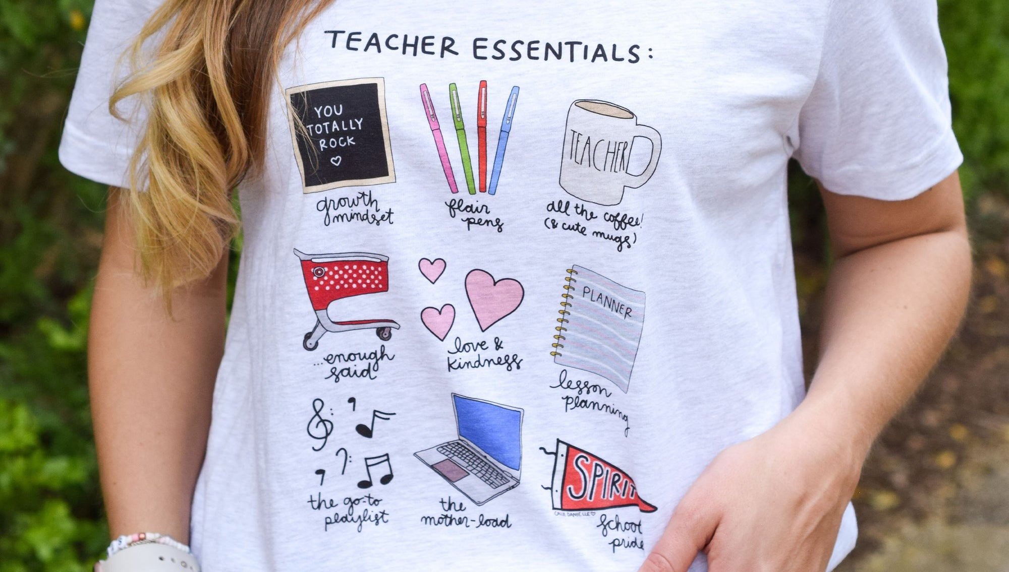 Teacher Essentials T-shirt