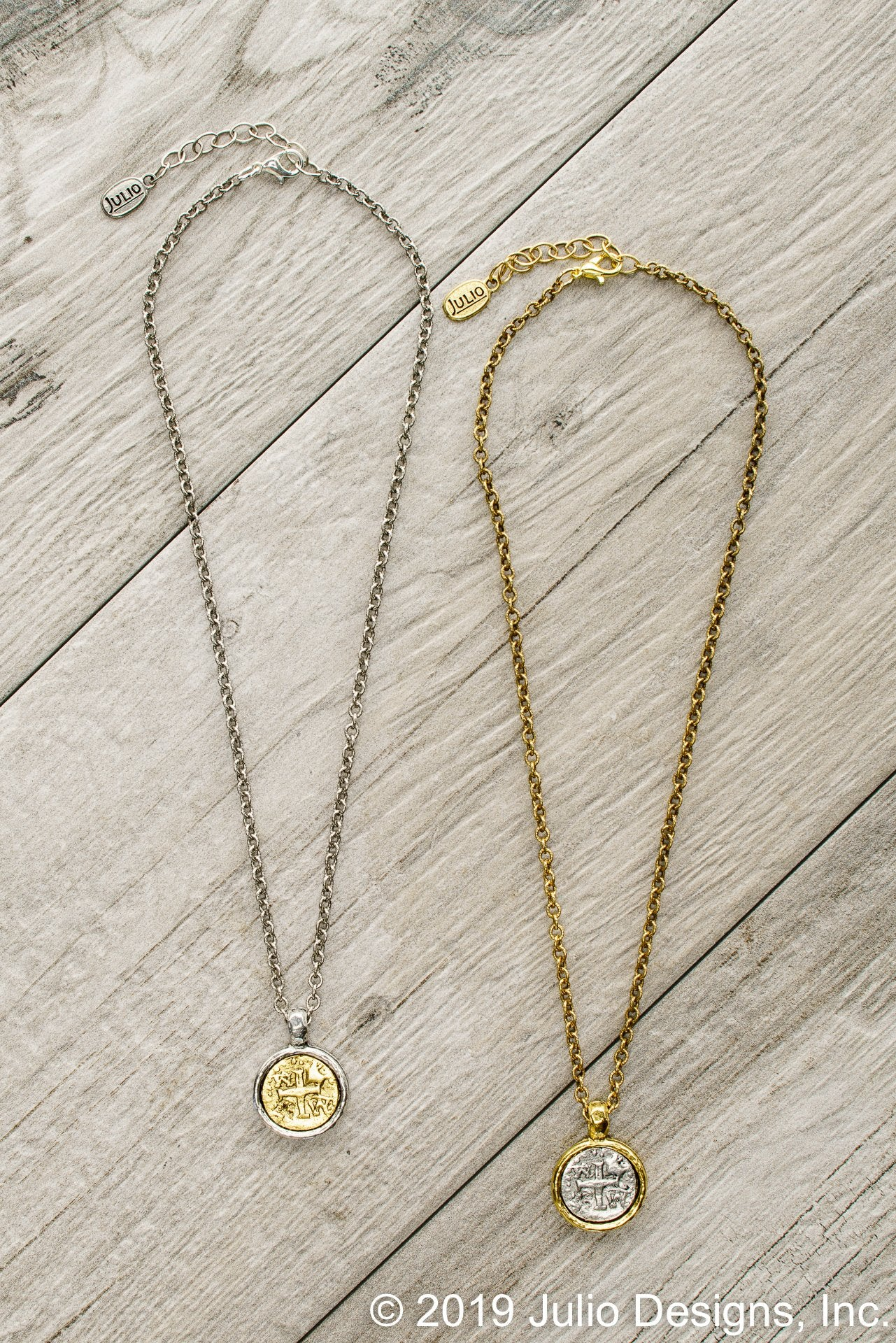 Julio Design Mercy Coin Necklace