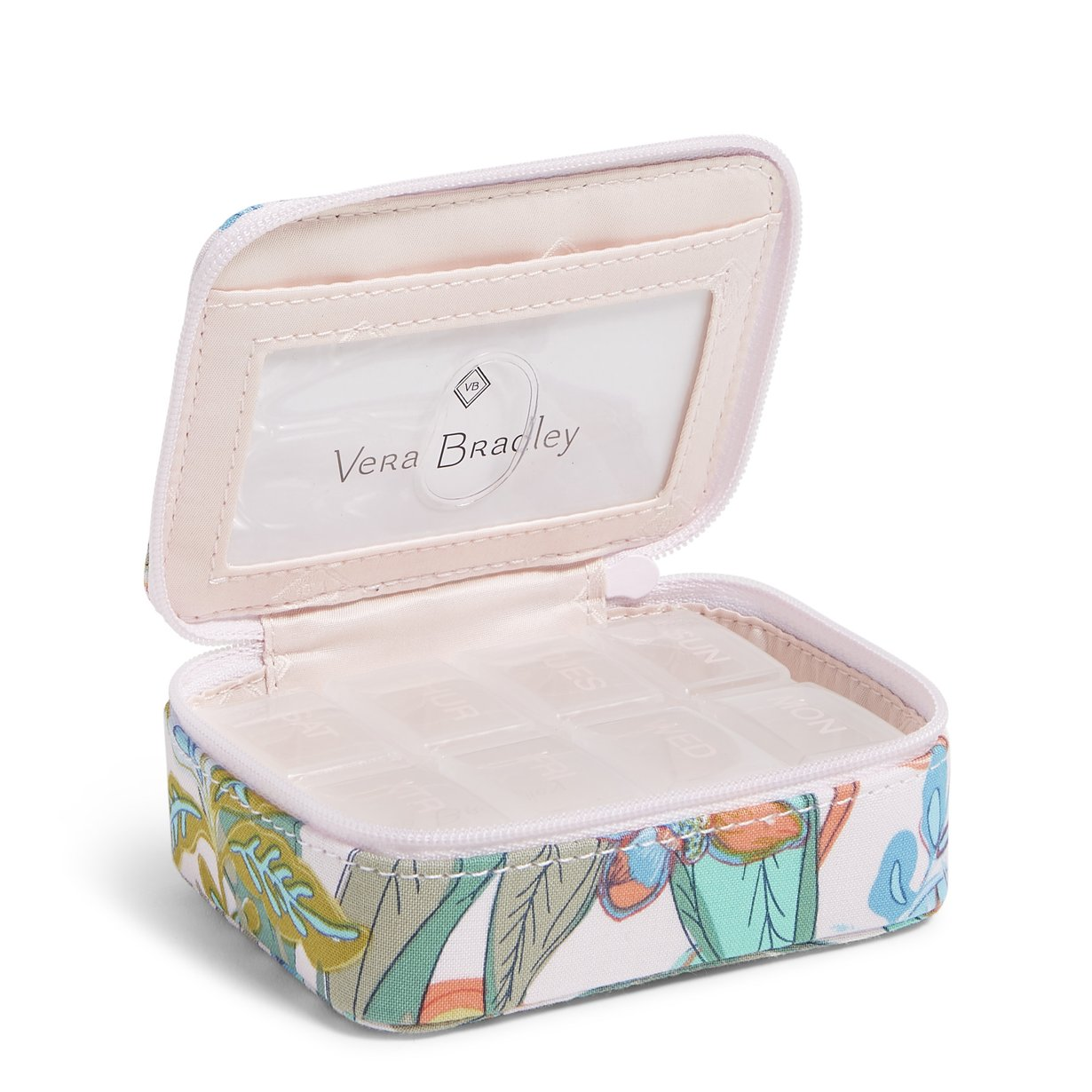 Travel Pill Case Rain Forest Canopy