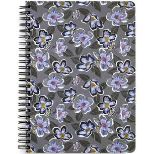Mini Notebook With Pocket Blooms Shower
