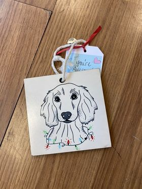 Dog Christmas Ornament