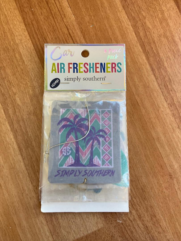 Simply Southern Palm Tree Air Freshener Ocean