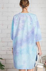 Talented Tie Dye T-Shirt Dress