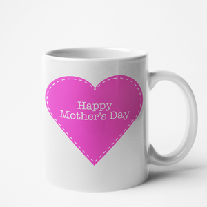 Mug blanc Personnalisé Happy Mother's day
