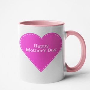 Mug rose Personnalisé Happy Mother's day