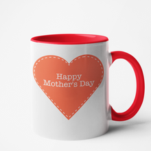 Charger l'image dans la galerie, Mug rouge Personnalisé Happy Mother's day