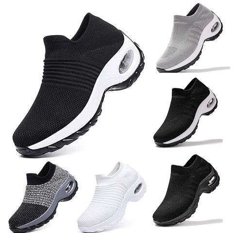 Mesh Women Running Shoes - Breathable and Soft Jogging  Sneaker