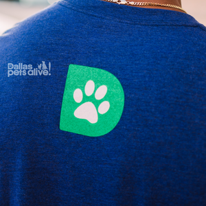 Dallas Pets Alive! Logo t-shirt